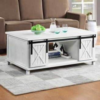 Gracie Oaks Connery Coffee Table with Storage
