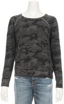 Sundry Camo Print Pullover Sweatshirt
