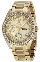 Fossil Women's Ladies Decker-ES2683 -Tone Stainless Steel/Glitz/ Watch