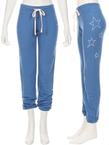 Sundry Star Embroidered Sweatpant