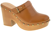 Chinese Laundry Cognac Walk On Leather Clog