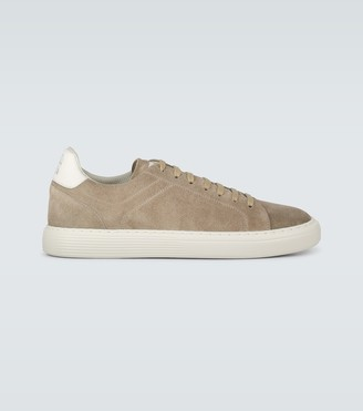 Brunello Cucinelli Leather tennis sneakers