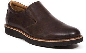 Deer Stags Walkmaster Twin Gore Slip-On - Wide Width Available