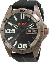 BOSS ORANGE Hugo 1513287 Stainless Steel Case Rubber Mineral Men's Watch
