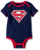 Superman Newborn Boys' Bodysuit - Navy NB