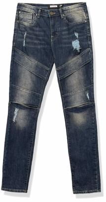 WT02 Men's Fashion Skinny Denim Pants