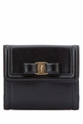 Salvatore Ferragamo Bow Fold-Over Wallet
