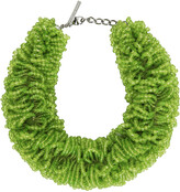 Thumbnail for your product : Dries Van Noten Green Beaded Necklace