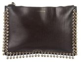 Zimmermann Grommet-Embellished Leather Clutch
