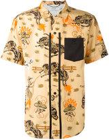 Coach western print shirt