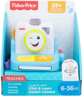 Fisher-Price Laugh & Learn Click and Learn Instant Camera