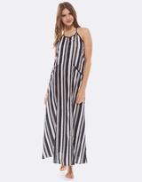 Deshabille Milliner Dress Black/White