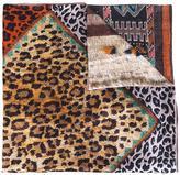 Pierre Louis Mascia Pierre-Louis Mascia - multi print scarf - women - Silk/Modal/Cashmere - One Size