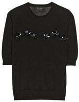 Simone Rocha Merino wool, silk and cashmere sweater