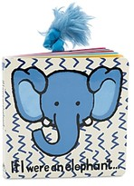 Jellycat If I Were an Elephant Book - Ages 0+