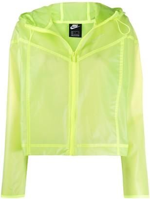 Nike Windrunner transparent jacket