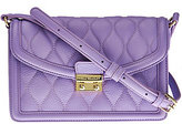 Vera Bradley As Is Quilted Leather Crossbody - Tes