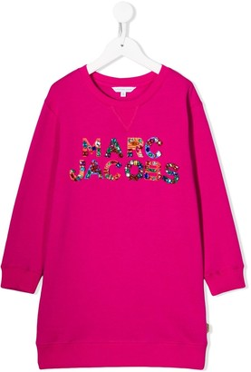Little Marc Jacobs embellished jumper