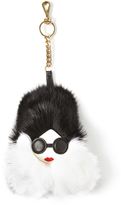 Alice + Olivia Stace Face Fur Charm