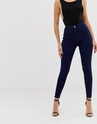 N. Liquor Poker super highwaisted spray-on jean