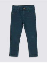 Marks and Spencer Cotton Jeans with Stretch (3 Months - 6 Years)