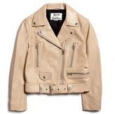 Acne Studios Mock Crop Leather Jacket