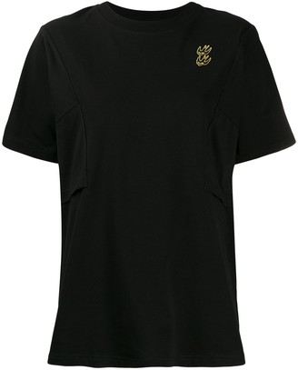 McQ embroidered bird detail T-shirt