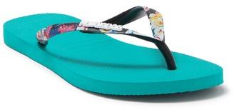 Havaianas Slim Tropical Strap Flip Flop