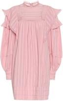 Etoile Isabel Marant Isabel Marant, étoile Patsy striped voile minidress