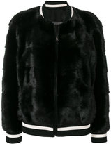Simonetta Ravizza fur bomber jacket