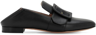 Bally 10MM JANELLE TONAL LEATHER LOAFERS