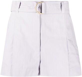 BA&SH Aris belted shorts