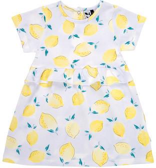 3 Pommes ALEXIA girls's dress in White