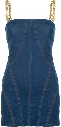 Manning Cartell Australia Fitted Denim Bustier Dress