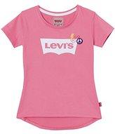Levi's Girl's SS Tee Cher T-Shirt