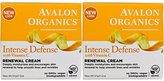 Avalon Intense Defense with Vitamin C Renewal Cream, 2 Oz (Pack of 2)