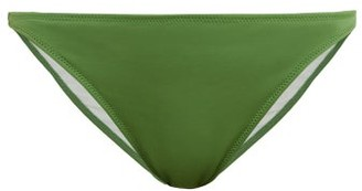 Solid & Striped The Tati Bikini Briefs - Womens - Green