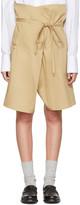 Bless Beige Wrap Shorts