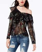 GUESS Winslow Off-The-Shoulder Top
