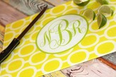 The Well Appointed House Monogrammed Links Cutting Board
