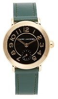 Marc Jacobs Women's Riley Green Leather Watch - MJ1469