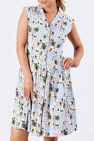 Emily And Fin NEW Womens Knee Length Dresses Frankie Dress Moroccan