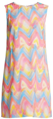M Missoni Chevron Print Shift Dress