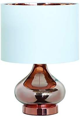 Village At Home Clarissa Table Lamp, Metal, Copper