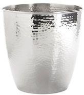 Pier 1 Imports Hammered Metal Waste Bin