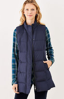 J. Jill Highland Park Long Down Puffer Vest
