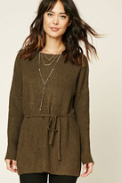 Forever 21 FOREVER 21+ Contemporary Drawstring Tunic