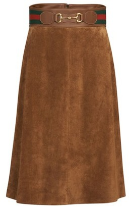 Gucci Horsebit skirt
