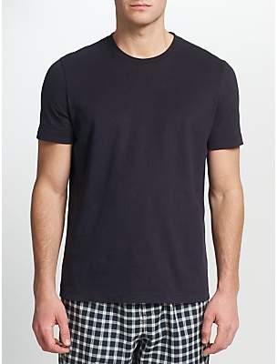 John Lewis & Partners Jersey Cotton Crew Neck Lounge T-Shirt