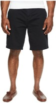 Nautica Big & Tall True Khaki Flat Front Short